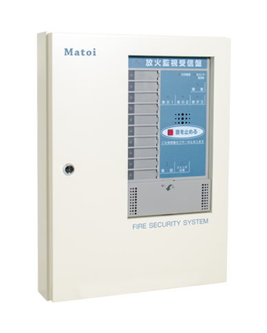 "Dedicated receiver capable of centralized management of ""Matoi"", UVS-06CN PCP-10"